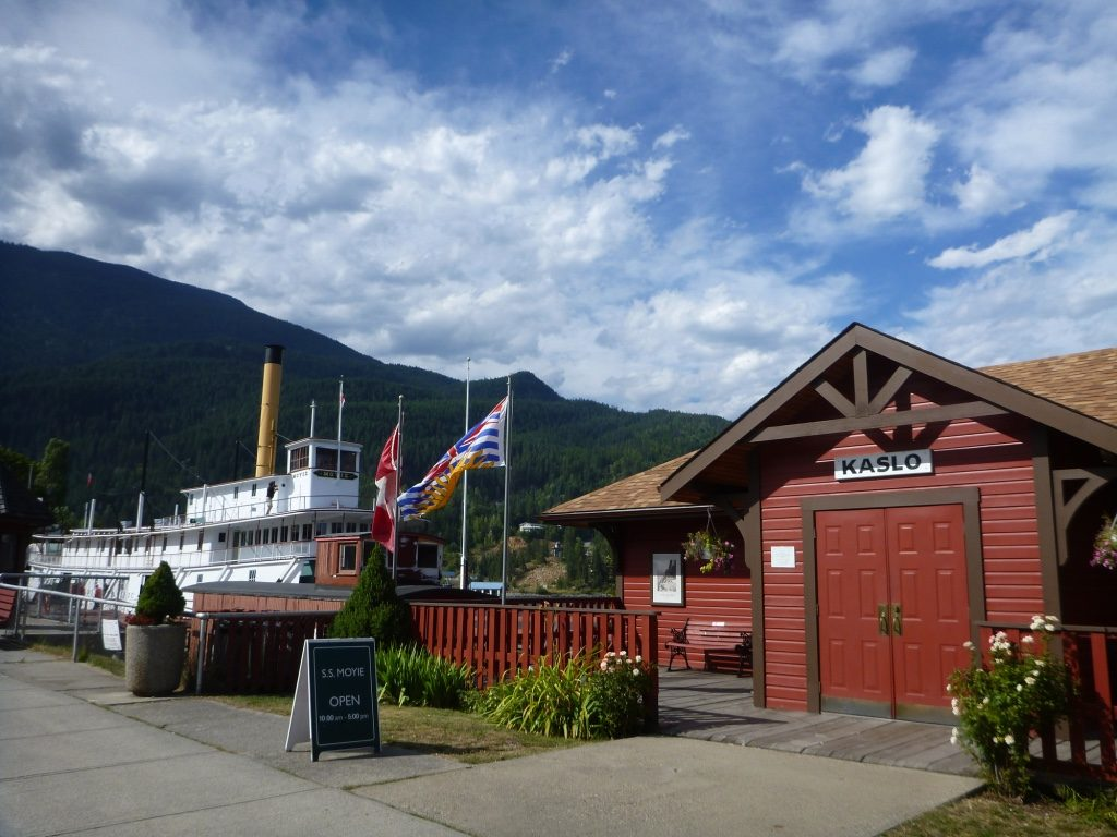 SS Moyie Kaslo BC Visitor Centre