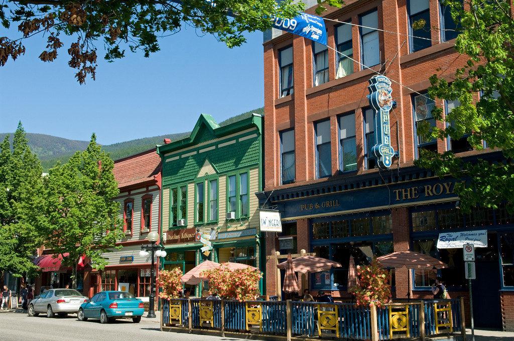 Baker Street Nelson BC
