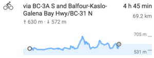 Nelson to Kaslo
