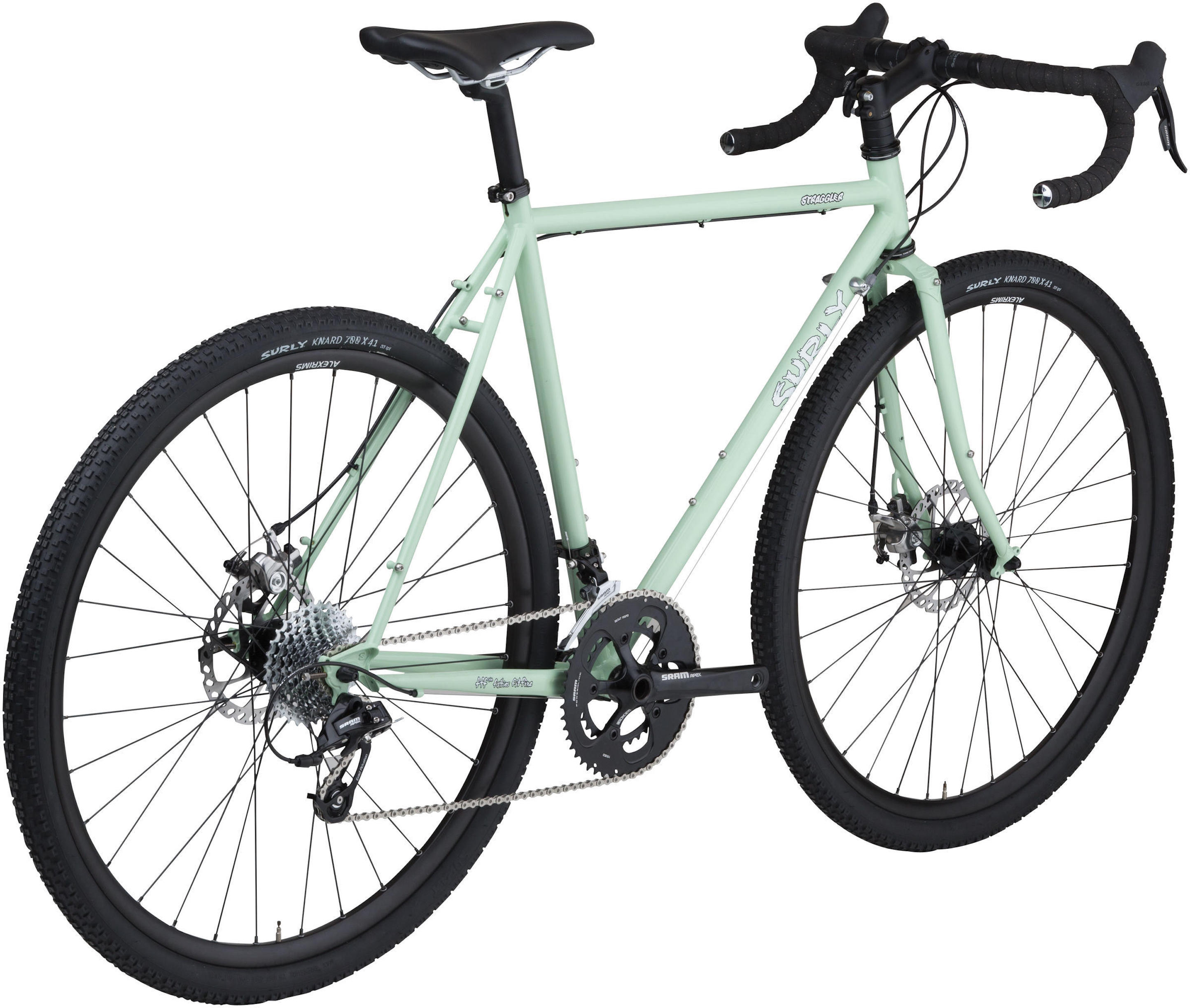 Surly Straggler Mint Green bicycle