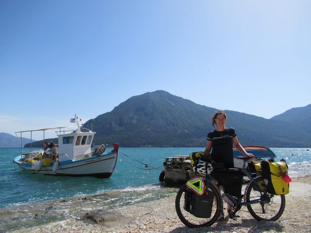 Mitikas Greece by bicycle