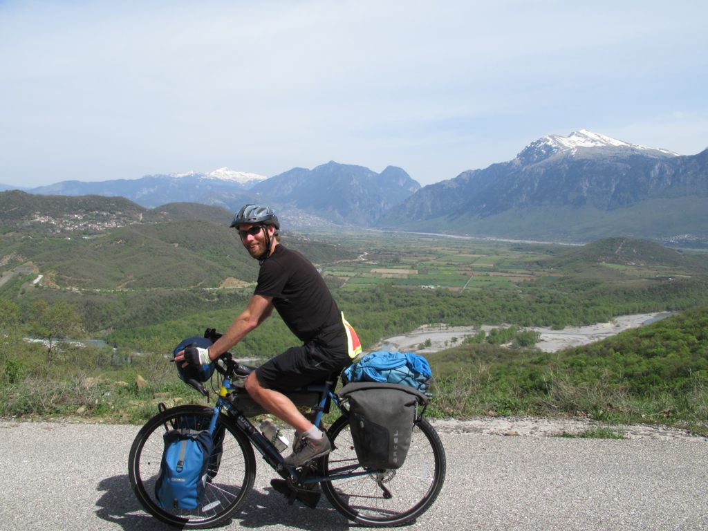 Konitsa Greece by bicycle