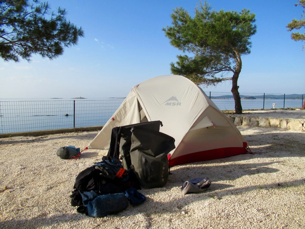 Camping in Croatia