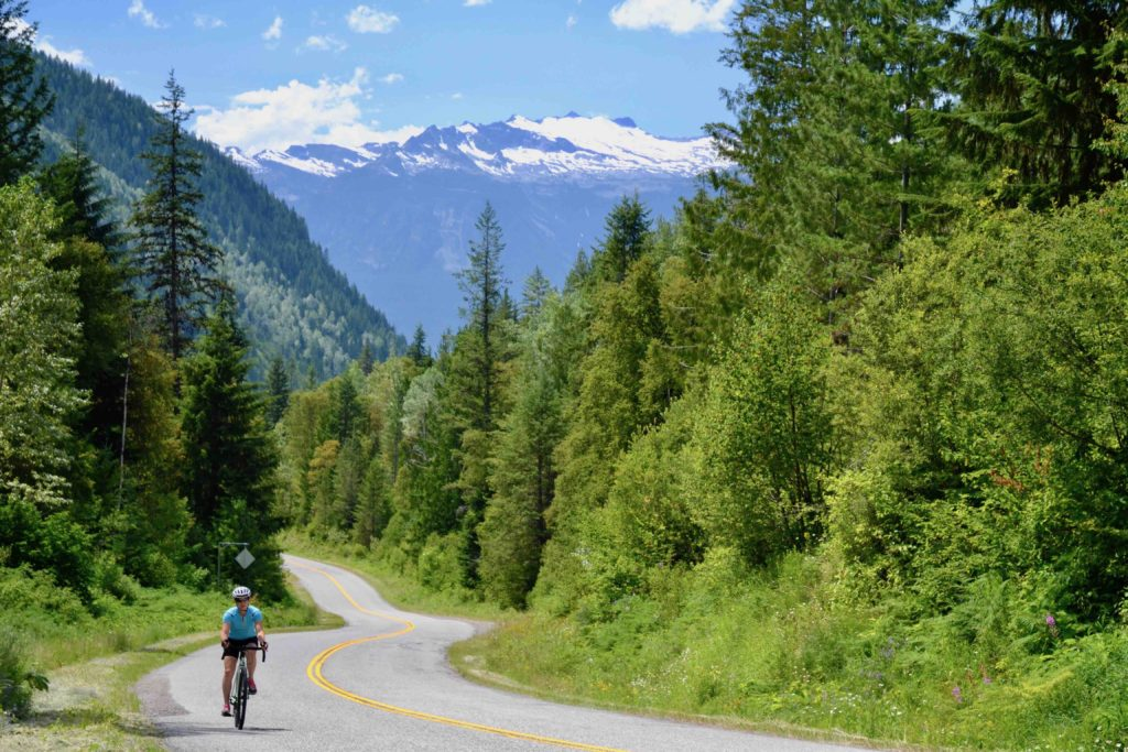 Kaslo to New Denver summit