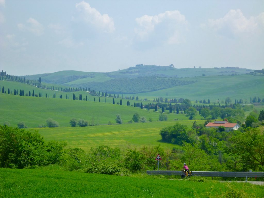 Tuscany cycling